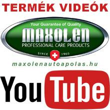MAXOLEN termék videók a YouTube-on - Iratkozz fel csatornánkra!
